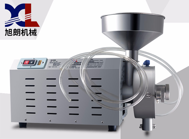 Whole grains mill machine with water cooling system