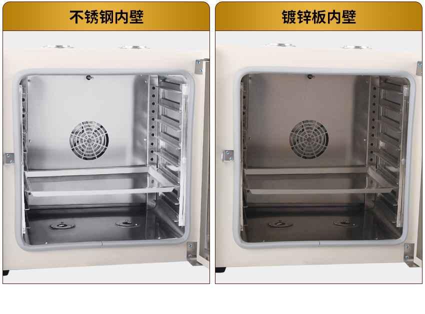 原理与结构 本系列烤箱在工作室后部装有发热管